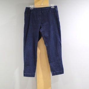 Soft Surroundings Cropped Jeans Womens Petite Med